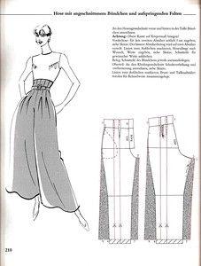 Ideas for sewing pants pattern trousers Diy Clothing, Clothing Patterns, Sewing Patterns, Sewing Pants, Sewing Clothes, Fashion Sewing, Diy Fashion, Diy Pantalon, Fashion Design Drawings
