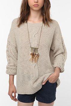 This urban outfitters sweater is perfect for winter. YES YES YES