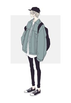 Cool Anime Guys, Handsome Anime Guys, Cute Anime Boy, Anime Art Girl, Cute Art Styles, Cartoon Art Styles, Cover Wattpad, Fashion Design Drawings, Art Reference Poses