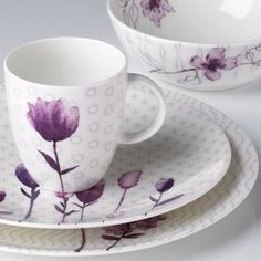 Amethyst & Purple Ceramic Dinnerware Set - Buy Dinnerware SetPurple Dinnerware ...