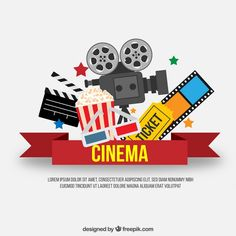 movie night clipart movie clip art cinema retro clipart vintage rh pinterest com family movie night clipart church movie night clipart