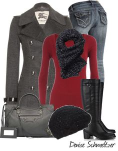 """Black Beanie"" by denise-schmeltzer on Polyvore"