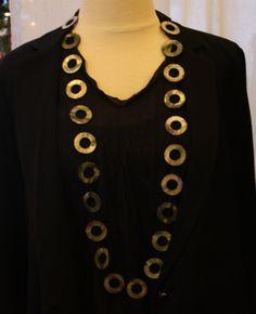 Chan Luu: Circle cut necklace  #retailtherapymi