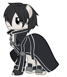 Kirito [Sword Art Online] My little pony version