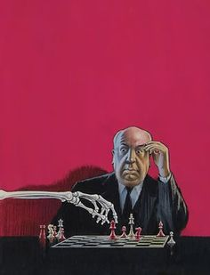 Alfred Hitchcock   - illustrated by Fred Banbery