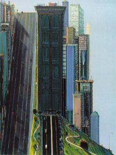 He's not really an illustrator, but I've always found Thiebaud's work to have an illustrative feel.