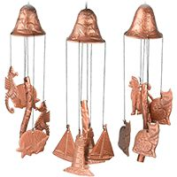 SPECIAL $4.95 -- Garden Bell Wind Chime Series -- CHOOSE THE ONE YOU LIKE -- purchase benefits animal rescue via The Animal Rescue Site