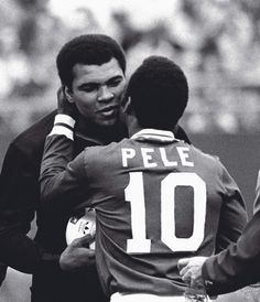 Icons ©: Two Great Sports Icons Together :- the King of Boxing, Muhammad Ali and the King of Football, Pelé [October Image Foot, Sport Icon, Sports Figures, World Of Sports, Sports Stars, Sports Illustrated, Football Players, Nfl Football, Black Men