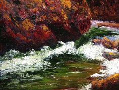 """Poudre River No. 3   11"""" x 14""""   Oil Painting   If interested, email me @ lamerledeca@gmail.com"""