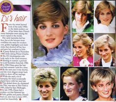 Diana's Hair - Princess Diana Remembered