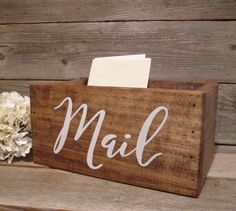 Rustic home decor large rustic mail holder by PerryhillRustics