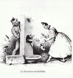 Tricky dicks and flying vaginas: The satanic erotica of 'Les Diables de Lithographies' | Dangerous Minds