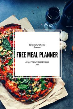 Free Slimming World Meal Planner for Absolute Slimming Success, Healthy Meal Plans and Budget Meal Planning
