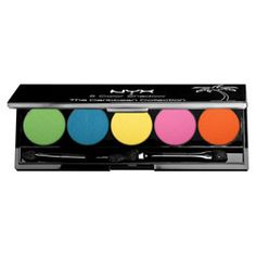 NYX Cosmetics The Caribbean Collection 5 Color Eyeshadow Palette I Dream of St. Lucia