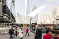 Gallery: Santiago Calatrava's WTC Transportation Hub Photographed by Laurian Ghinitoiu,© Laurian Ghinitoiu