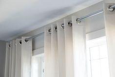 Nautical Master Retreat » Natalie Fuglestveit Interior Design Master Bedrooms, Nautical, Blue And White, Ceiling Lights, Interior Design, Home Decor, Navy Marine, Nest Design, Decoration Home