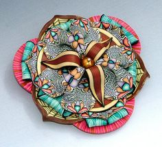 """Bazaar"" Brooch 