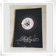 Lunasdatters Scrapbooking: Happy Birthday kort