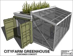 Container Concept Design for City Farmer Society in Vancouver, BC — City Farmer News