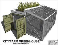 shipping container farm - Pesquisa Google