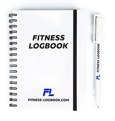 Fitness Logbook: Undated Workout Journal w/ Pen – 4 x 6 i...