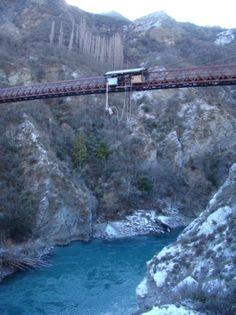 bungee jump Skipper's Canyon. 229 feet!