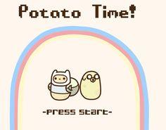 Potato time! (∩˃o˂∩)♡