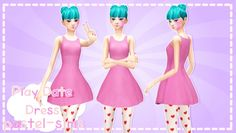 Play Date Dress at Pastel Sims • Sims 4 Updates