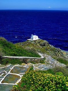The church of Seven Martyrs, Sifnos island ~ Greece