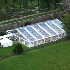 15X40m outdoor clear span transparent roof cover and sidewalls marquee wedding party events tent