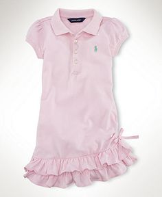 d8bf3c45bc19 Polo Dress Ralph Lauren Kids, Cute Outfits For Kids, Cute Kids, Baby Girl