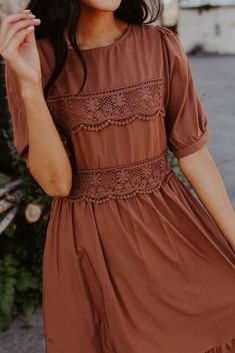 Out of Thyme Dress - Out of Thyme Dress Apostolic Fashion, Modest Fashion, Fashion Dresses, Apostolic Style, Fashion Shirts, Modest Clothing, Pretty Dresses, Beautiful Dresses, Dress Skirt