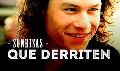 Heath Ledger- Nuestra sonrisa favorita #hombresalacarta #hombres #men #sexy #hot #cute #boys