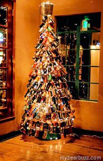 Percy St Philadelphia To Light 1,700 Beer Can Tree 12/12 w/21st Amendment Marooned On Hog Island