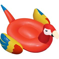 Swimline Giant Parrot Inflatable Float | Inflatables And Rafts