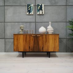 Superb cabinet from the 60 / Scandinavian design - minimalist form. Danish Design, Dressers, Scandinavian Design, Cabinets, Minimalist, Storage, Furniture, Etsy, Vintage
