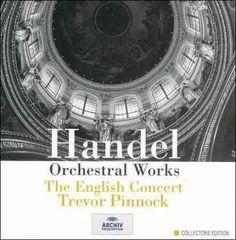 Club Clean Pinnock/English Conc - Handel: Orchestral Works