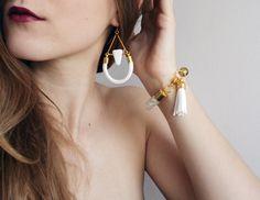 Armreife - SAIL white - armbande - Almost Done - ein Designerstück von almost-done bei DaWanda