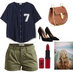 Untitled #2 by roxanalavricuti on Polyvore featuring polyvore fashion style Object Collectors Item Lipsy Chloé Rimmel