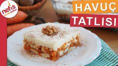 Muhallebili Havuç Tatlısı Tarifi  - Yedikçe yediren pratik tatlı - YouTube