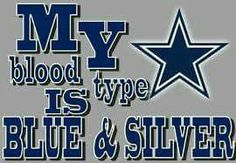 BLUE & SILVER...for Life!!!!!!