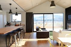 ply, wooden floors, architectural home nz, gable, modern house, nz