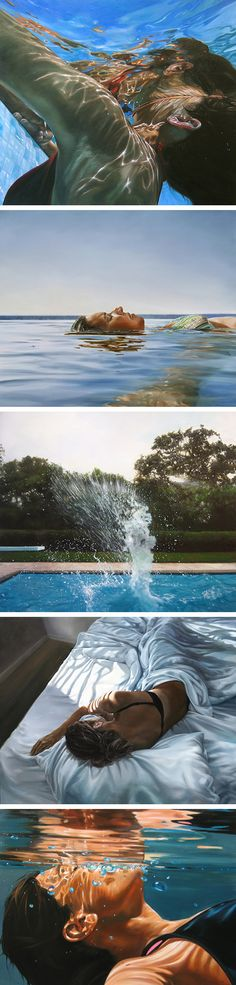 Paintings by Eric Zener / art / portraits / via: http://www.booooooom.com