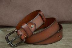 Mens Belt Womens Belt Genuine Cowhide Belt Tan Brown Distressed Leather Belt Boho Belt by SherryJewelry, $27.00 Clothing, Shoes & Jewelry : Women : Accessories : belts http://amzn.to/2m1lkpw