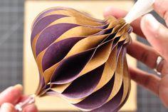 DIY Tutorial: DIY Art & Crafts / DIY Honeycomb Ornament - Bead&Cord