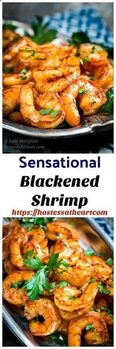 Sensational Baked Blackened Shrimp Recipe is delicious and so versatile. It ma… Sensational Baked Blackened Shrimp Recipe is delicious and Appetizer Dishes, Great Appetizers, Easy Appetizer Recipes, Healthy Appetizers, Shrimp Recipes, Fish Recipes, Jalapeno Recipes, Delicious Appetizers, Freezable Appetizers