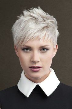 Image result for messy textured short pixie fine hair