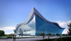 new century global center large Made In China The Largest Building Ever Built Is Now Open. A structure the size of a city has usurped Dubai's Internationa