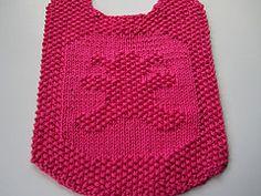 Ravelry: Seedy Teddy Bear Bib pattern by Elaine Fitzpatrick