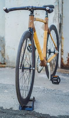 VOOC Bamboo Bike on Behance